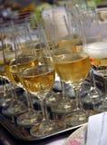 香槟 库存照片