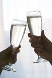 香槟 免版税库存照片