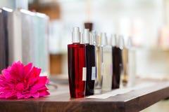 香水在药房或界面 免版税库存图片