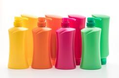 香波或护发素瓶 库存图片