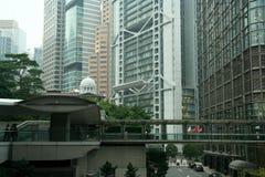 香港业务量 库存照片