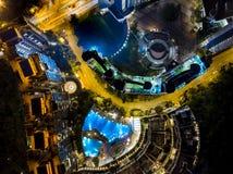 香港个人住房鸟瞰图  免版税库存图片