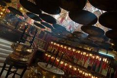 香港人mo寺庙 免版税库存图片