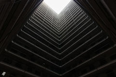 香港住宅老建筑学庄园,中国 图库摄影