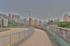 香港住房公寓楼Siu洪 免版税库存图片