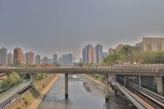 香港住房公寓楼Siu洪 库存照片