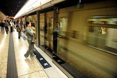 香港公交铁路(MTR) 库存图片