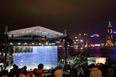 香港南瓜开张2012年 免版税库存照片