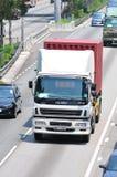 香港卡车卡车 库存图片