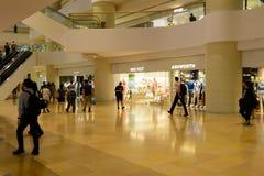 香港商城内部 免版税库存照片