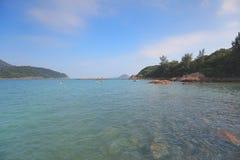 香港国家边风景 库存图片