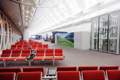 香港国际机场内部 免版税库存图片