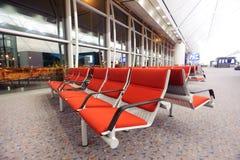 香港国际机场内部 图库摄影