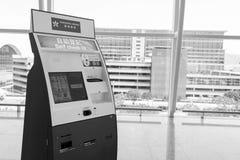 香港国际机场内部 库存照片