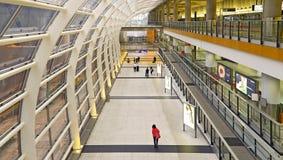 香港国际机场终端1 库存照片