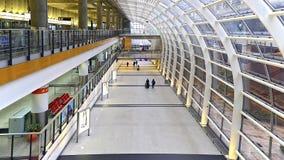 香港国际机场终端1 免版税库存照片