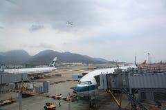 香港国际机场 图库摄影