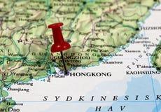 香港在中国 免版税库存图片