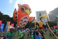 2015年香港在公园事件的狂欢节艺术 图库摄影