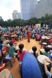 2015年香港在公园事件的狂欢节艺术 免版税图库摄影