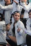 2015年香港在公园事件的狂欢节艺术 库存图片