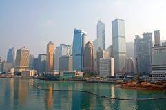 香港地平线 免版税库存图片