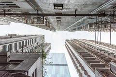 香港地平线 免版税库存照片