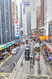 香港地标中部区 库存照片