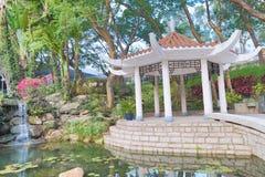 香港城市大学的一个庭院 库存图片