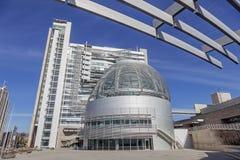 香港大会堂在圣何塞,加利福尼亚 免版税库存图片