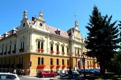 香港大会堂在布拉索夫(Kronstadt), Transilvania,罗马尼亚 免版税库存图片