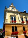香港大会堂在布拉索夫(Kronstadt), Transilvania,罗马尼亚 免版税库存照片