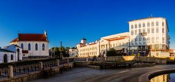 香港大会堂在米斯克,白俄罗斯 库存图片