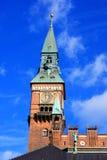 香港大会堂塔,哥本哈根,丹麦 免版税库存照片