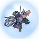 香港大会堂广场里加老镇,拉脱维亚 库存图片