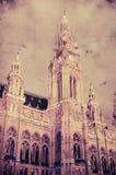 香港大会堂的减速火箭的图象在维也纳,奥地利 库存图片