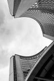 香港大会堂的现代建筑学,多伦多 免版税库存图片