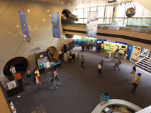 香港大厅博物馆空间 免版税图库摄影