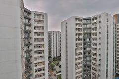 香港大厦中产阶级  免版税库存图片