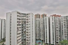 香港大厦中产阶级  免版税图库摄影
