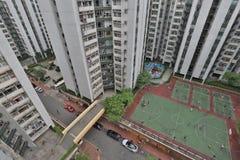 香港大厦中产阶级  免版税库存照片