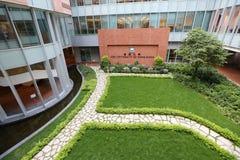 香港大学在Pok傅潜逃 库存照片