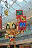 2015年香港对Bomberman比赛事件 免版税库存照片