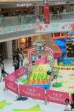 2015年香港对Bomberman比赛事件 免版税图库摄影