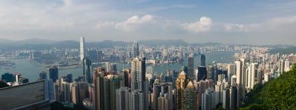 香港峰顶 免版税库存图片