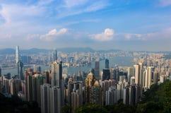 香港峰顶 免版税图库摄影
