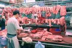 香港市场 免版税图库摄影