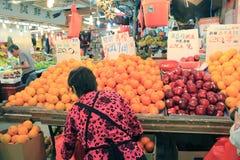 香港市场 免版税库存图片