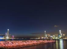 香港市风景 免版税图库摄影