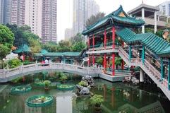 香港庭院 库存图片